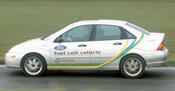 Ford Fuel Cell Focus.  Ford Authorized FCV Service Facility